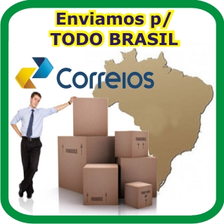 Envio para Todo Brasil.