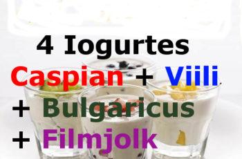 4 Iogurtes Infinitos – Caspian + Viili + Bulgaricus + Filmjolk. Procurando Onde Comprar? Compre Aqui Só R$59,90 os 4 Juntos com Frete Grátis para Todo Brasil.